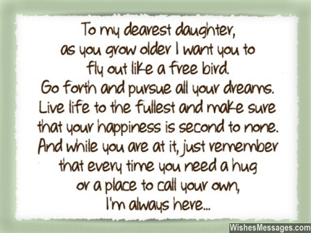 Quotes For Your Daughter Quotes to our daughter Arya – Baby Tipton's Blog Quotes For Your Daughter